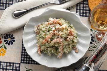 Risotto con le canocchie - primi piatti della toscana