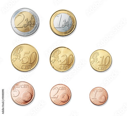 monete euro immagini e fotografie royalty free su file 11440098. Black Bedroom Furniture Sets. Home Design Ideas