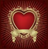 valentine heart medallion poster