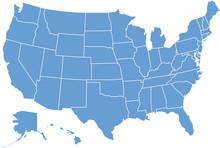 "Постер, картина, фотообои ""United States of America"""