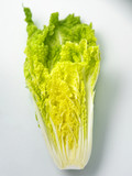 shot of vege on the white background