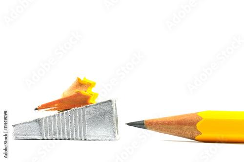 Anspitzer mit Bleistift
