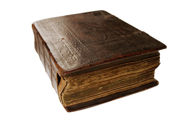 very old russian book with Orthodox prayers