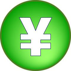 Yen Währung Button