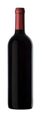 Bordolese vino rosso vetro con capsula tracciato