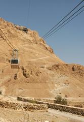 Cable Car to Masada, Israel