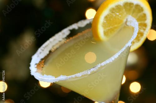 Papiers peints Cocktail Lemon Drop Martini
