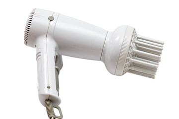 isolated electric hair drier