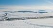 Leinwandbild Motiv L'Aubrac, hiver