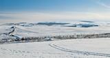 L'Aubrac, hiver