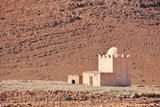 Mausoleum or Muslim shrine in Atlas mountains of Morocco poster