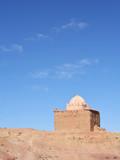 Mausoleum or Muslim shrine poster