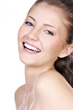 Fototapety Laughing young adult girl