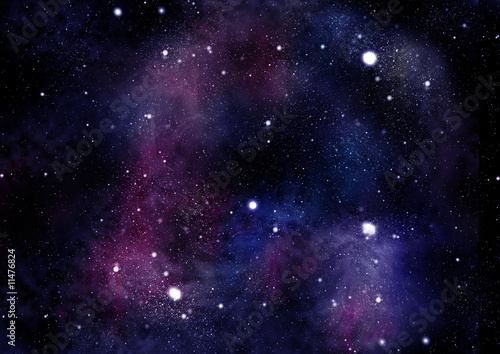 Fototapeta starfield fabula