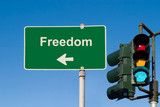 Freedom Sign poster