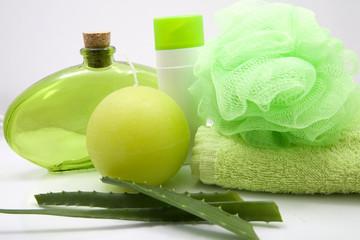 aloe and body treatment