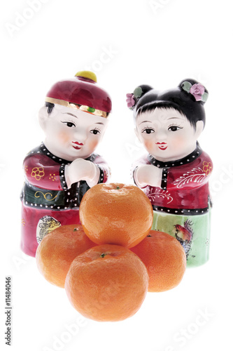 Chinese Figures and Mandarins