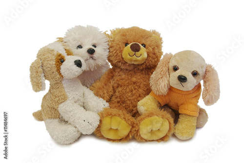 Teddy and his friends