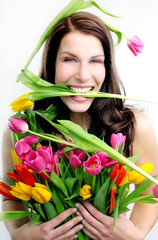Biss in die Tulpen