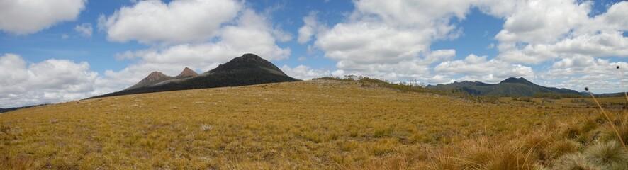Panorama montagnard en Tasmanie