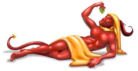 diavolo e uva