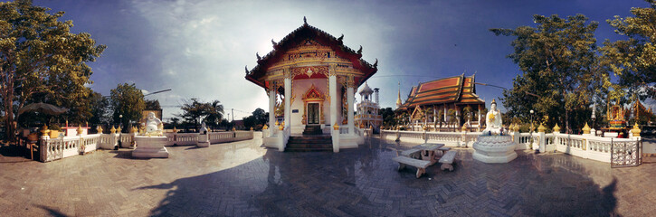 Temple Panoramic Thailand