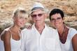 three generations - family portrait