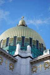 Goldene Kuppel, Otto Wagner Kirche Wien