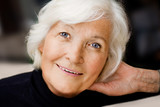 Fototapeta twarz - starszych - Kobieta