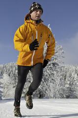 Lauftraining auch im Schnee