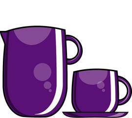 Jarra y taza 1