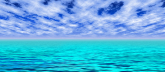 Tuerkiser Ozean