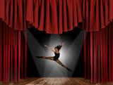 Modern Jazz Street Dancer Jumping poster