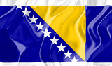 Flag of Bosnia Hertzigovina poster