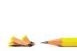 Anspitze mit Bleistift