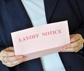 Layoff notice