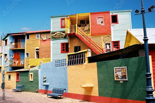 Plexiglas Zuid-Amerika land Buenos Aires Argentine Argentina La Boca