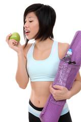 Asian Healthy Woman