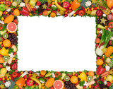 Fruit and vegetable frame