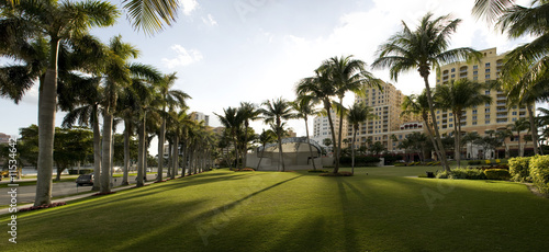 Panorama of Downtown West Palm Beach
