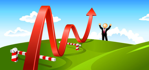 Business Growth Summer Landscape