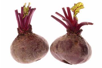 Beetroots Isolated