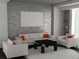 Fototapety living room