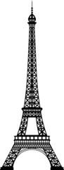 Tour Eiffel silhouette