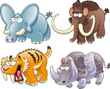 prehistoric animals poster