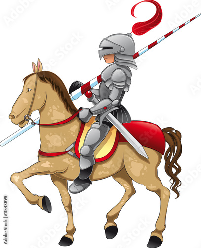 Knight and Horse