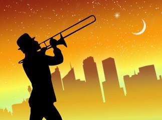 Suonatore di trombone