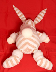 tail of toy rabbit