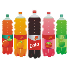 carbonated drinks set