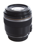 black fixed focus lens poster